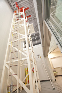 Great Plains College's Swift Current Campus is home to the only indoor fall protection/rig rescue tower in all of Saskatchewan.